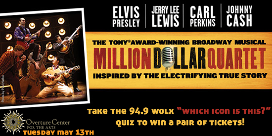 Win Tickets To Million Dollar Quartet